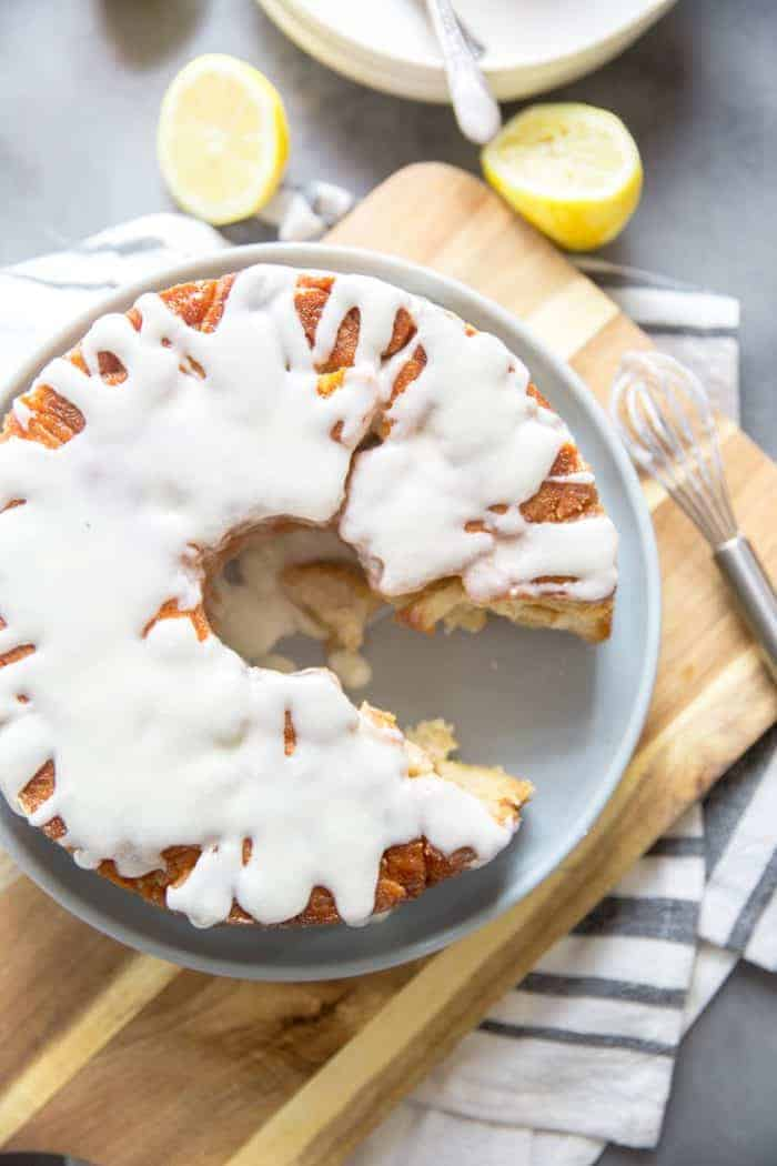 Monkey bread recipe with lemon
