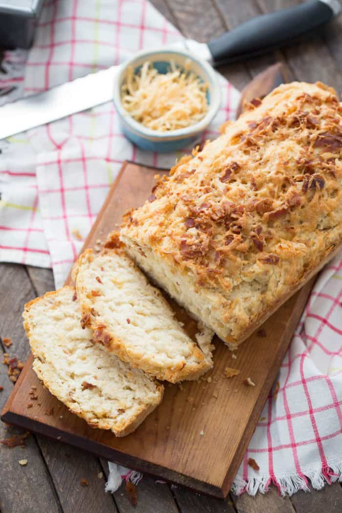 This beer bread is so soft and tender, you will want to make loaf after loaf!