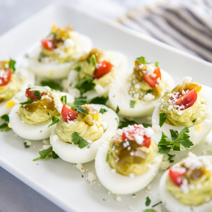 deviled eggs with jalapenos