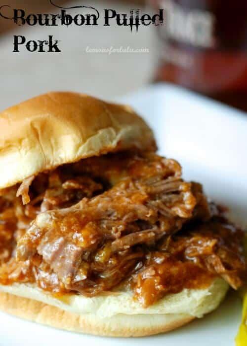 Bourbon Pulled Pork