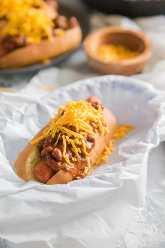 one chili dog
