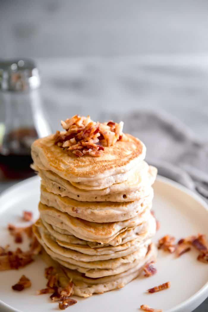Easy pancake recipe with cinnamon