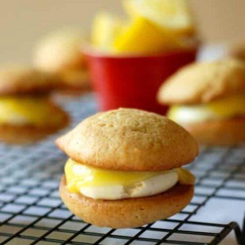 Lemon Meringue Whoopie Pies