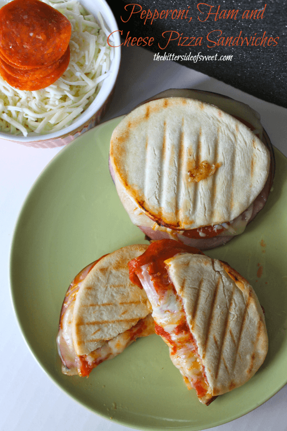 Pepperoni-Ham-and-Cheese-Pizza-Sandwiches-thebittersideofsweet.com_