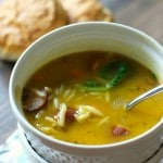 This easy chicken soup has orzo, spinach, carrots and chicken sausage. Perfect way to warm you up. www.lemonsforlulu.com