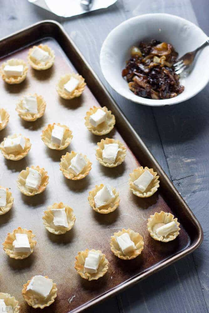 Bake Brie Caramelized Onion Cups-2