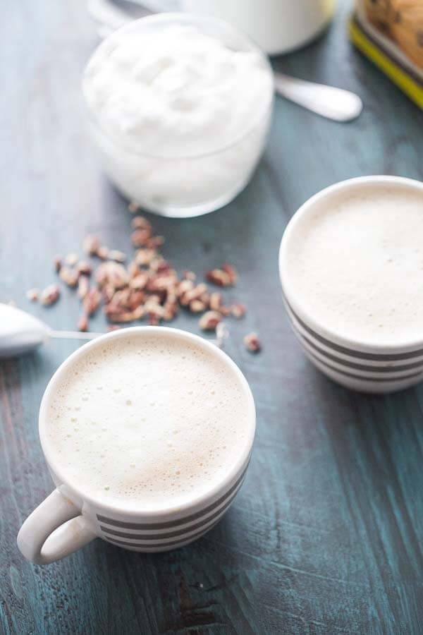 A rich, creamy, lighter latte with a decadent taste of butter pecan! lemonsforlulu.com