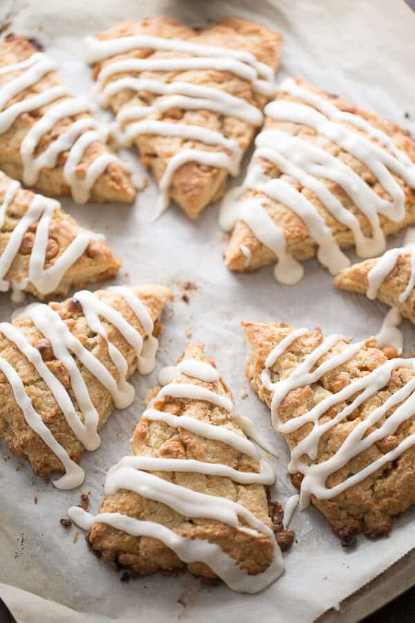 A basic scone recipe that has been sweetened with pure maple syrup and butterscotch chips! lemonsforlulu.com