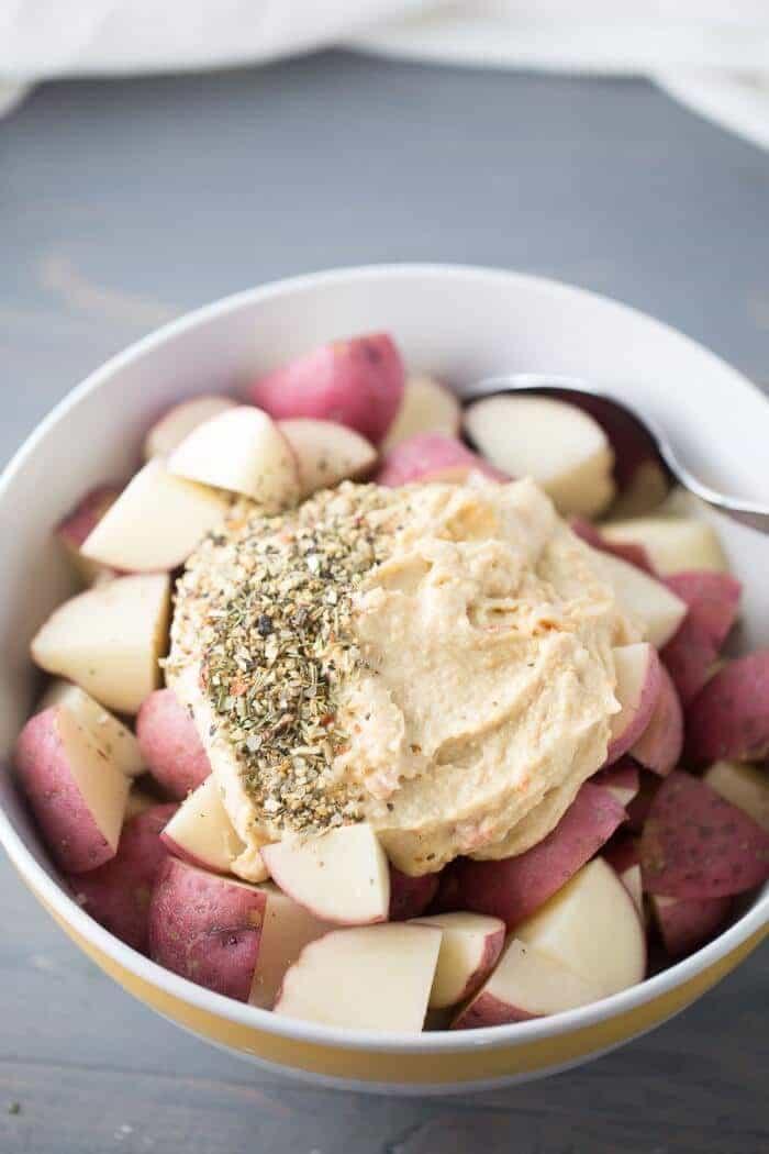 Hummus-Roasted-Potatoes- lemonsforluu.com