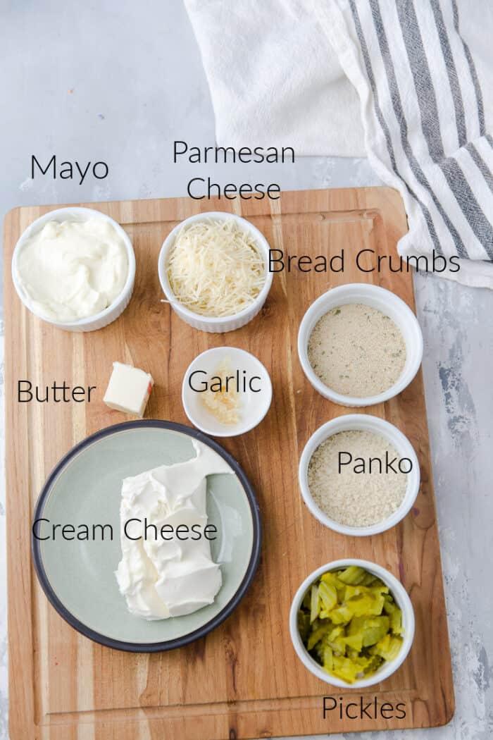 dill pickle dip ingredients
