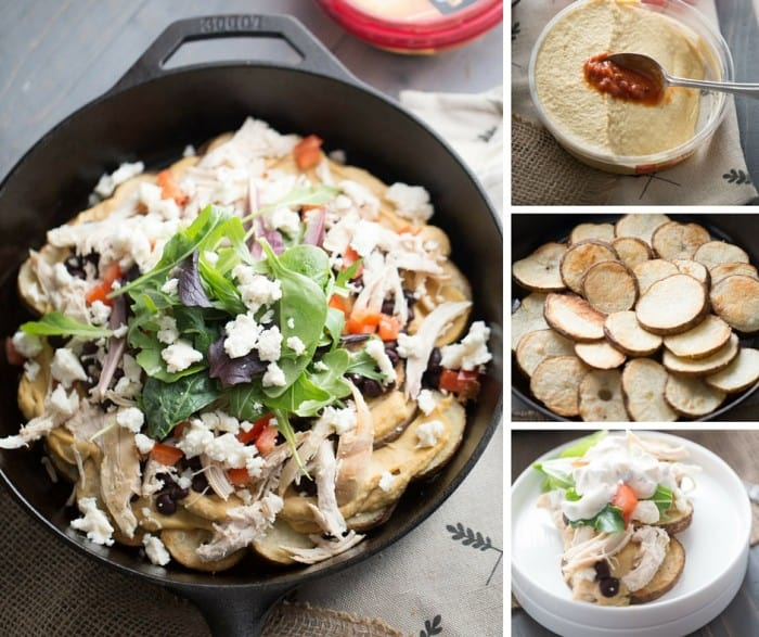 This Irish nachos recipes is loaded with so many good things, from hummus to Queso blanco; these nachos are irresistible! lemonsforlulu.com