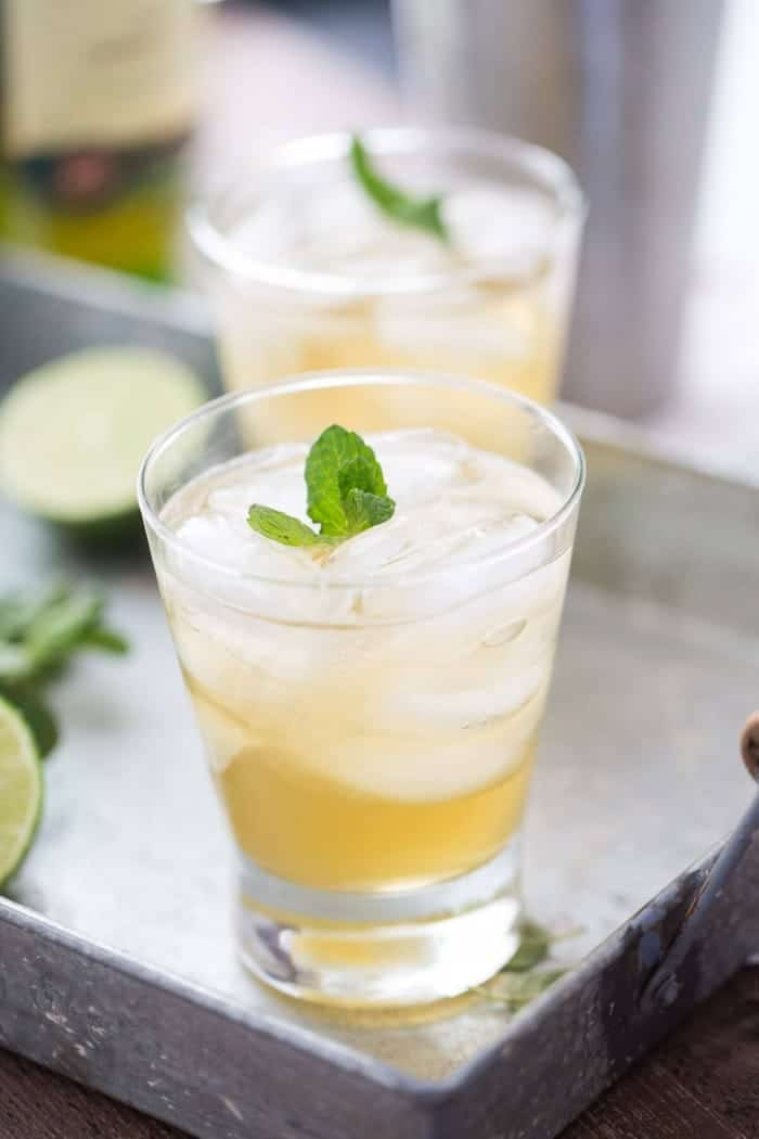 An Irish spin on a classic Mint Mojito! This cocktail is fresh tasting and fun; perfect to share with friends!