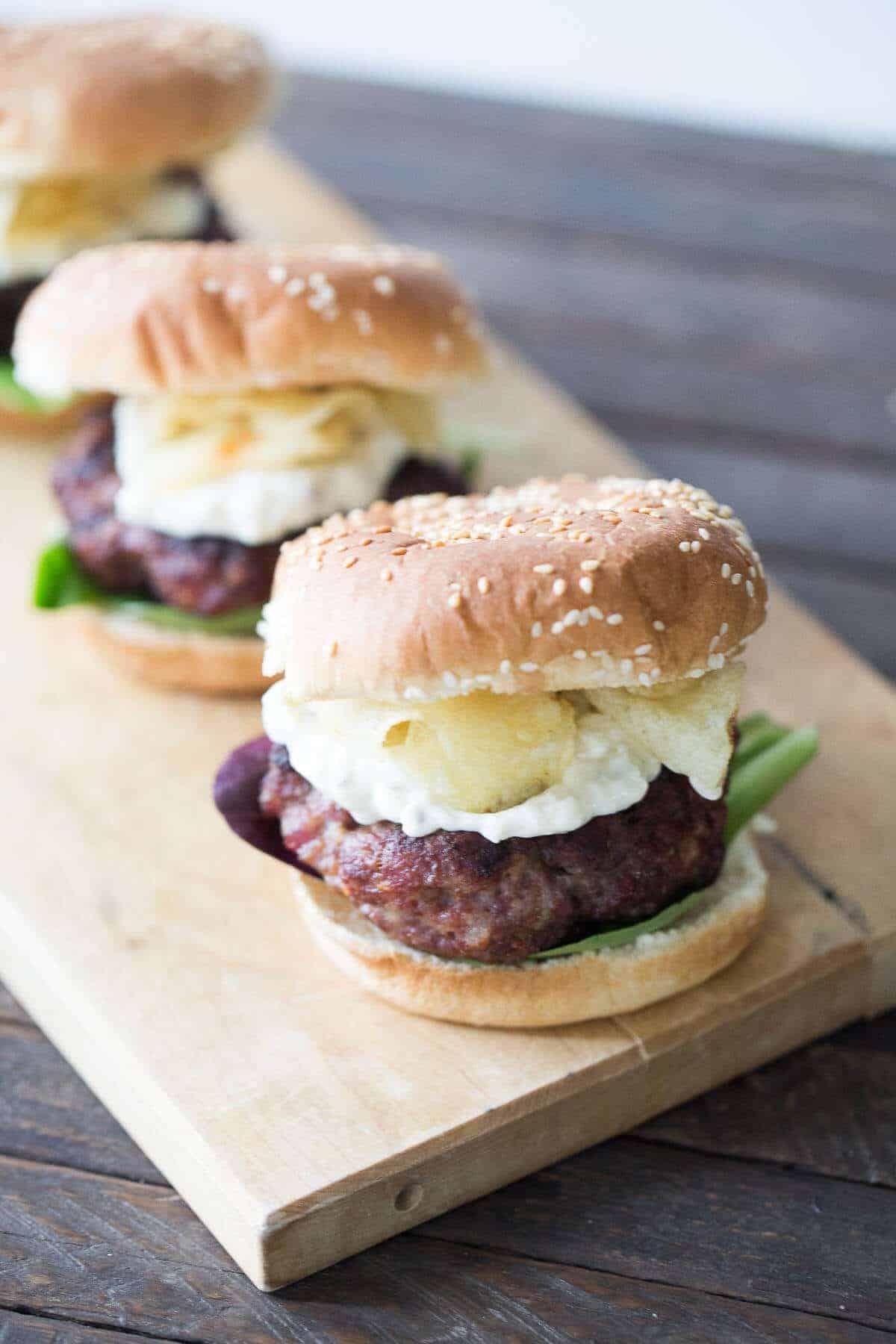 Black and Blue Cajun Burgers {Lemons for Lulu}