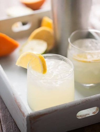 A non-alcoholic margarita that is crisp, cool and refreshing!