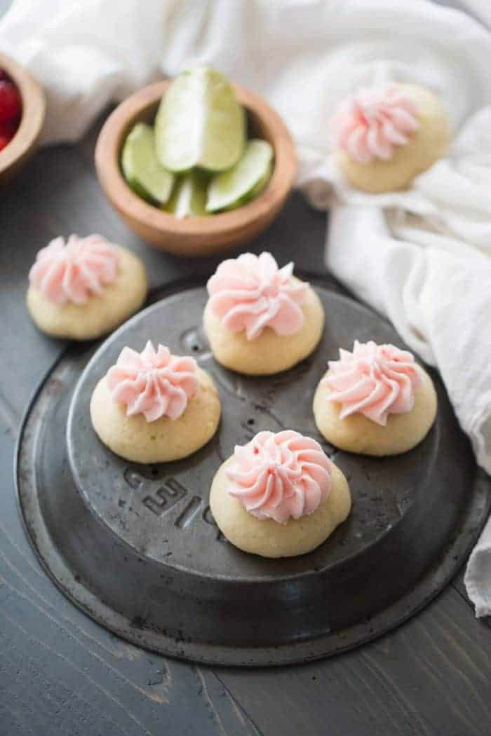 Lime cookies are soft and tender. These sugar cookies are a little tart, a little sweet and very delicious!