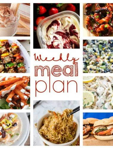 Weekly Meal Plan for busy lives. We do the work for you!