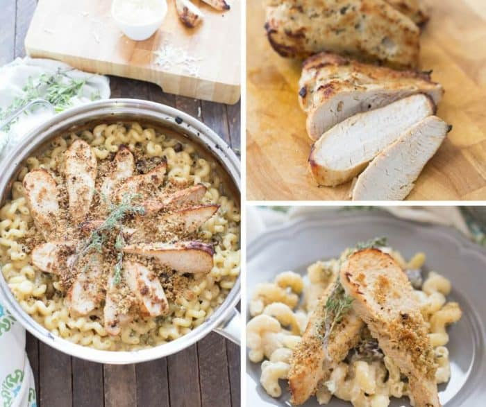 This turkey tetrazzini boasts cruly pasta resting in a rich, creamy sauce and succulent turkey slices on top. This skillet meal is a easy, simple and will please any palate!