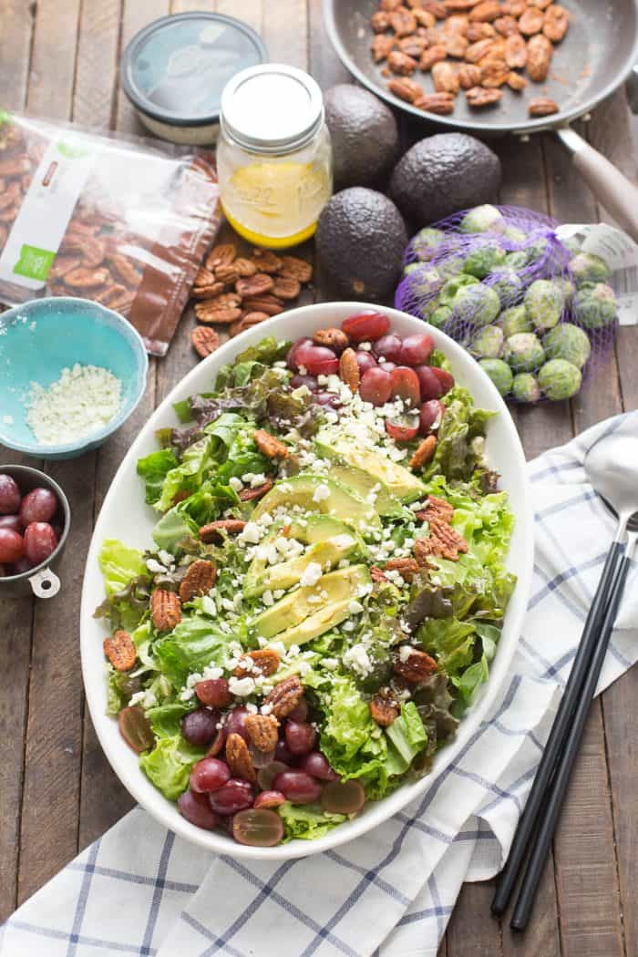 A fall harvest salad this worthy of the most special occassions!