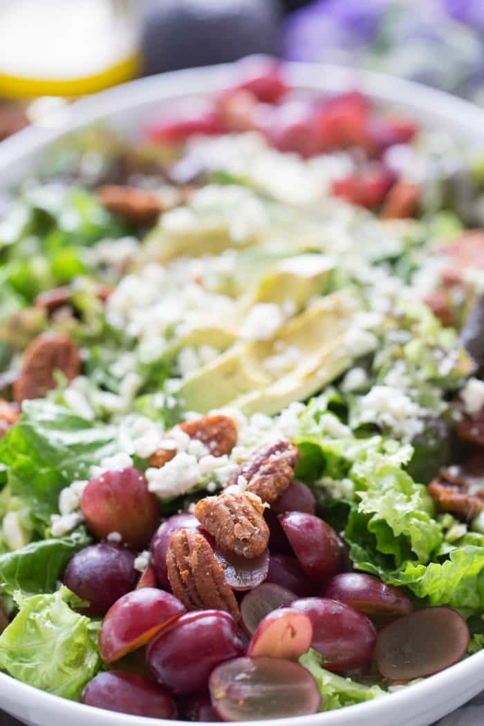 Salads are so easy and verstiile. This harvest salad is no exception. It has a blend of tastes and textures that is sure to please!