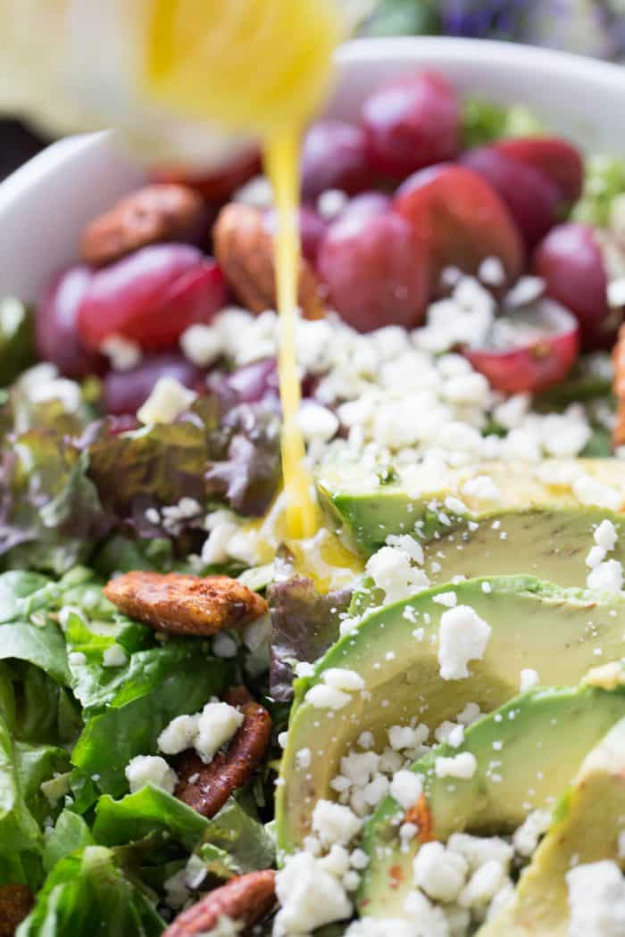Every special meal needs a good salad. This harvest salad is so simple yet so impressive!