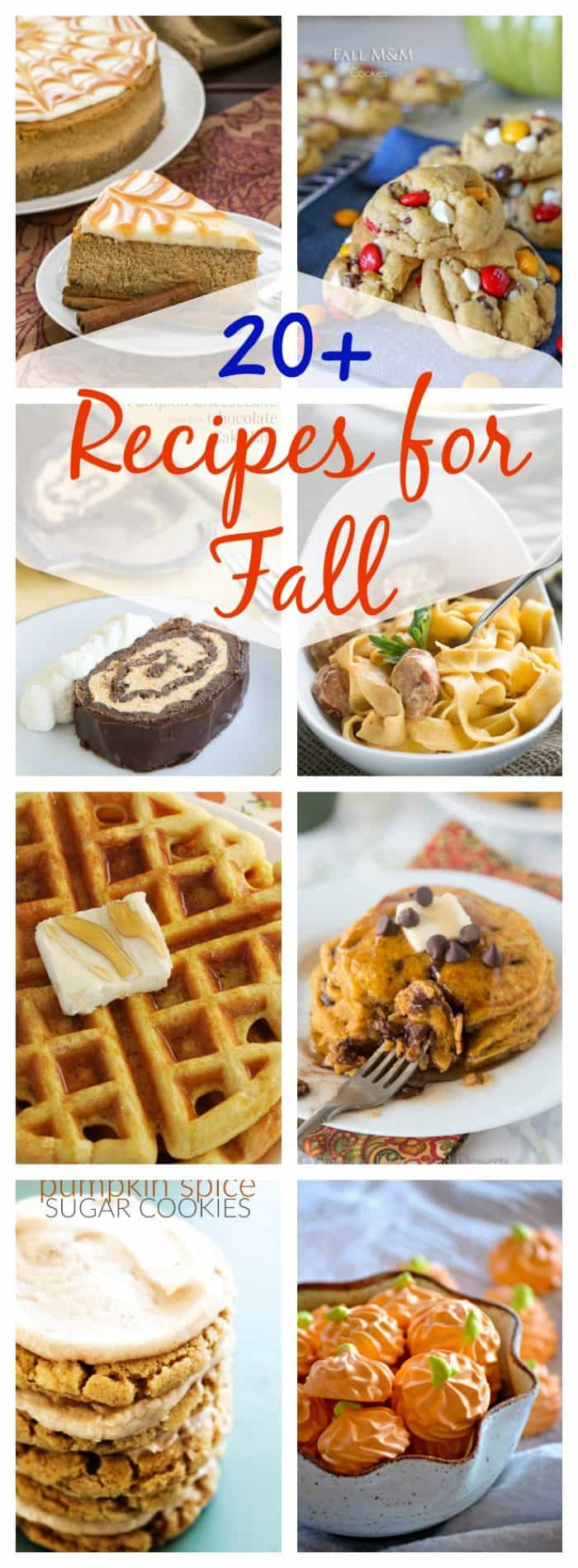 Perfect recipes for fall!