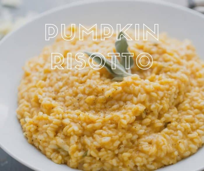 Risotto is a decadent and rich side dish that is quite easy to prepare at home. This pumpkin risotto is a fall-inspired twist on this classic dish!