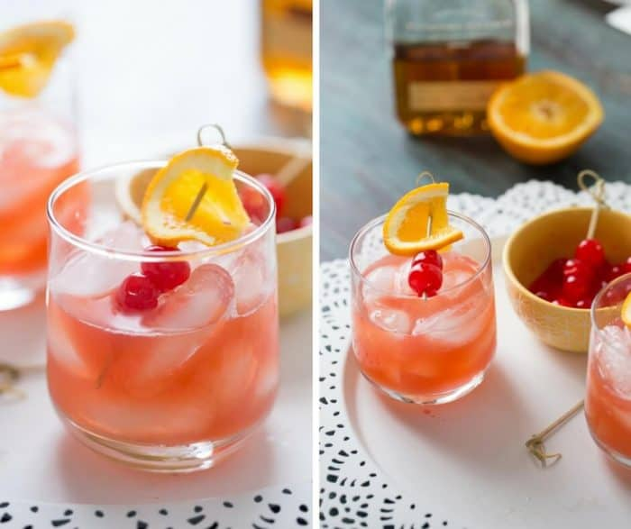 Simple and sweet; that is how you describe this bourbon Daisy cocktail!