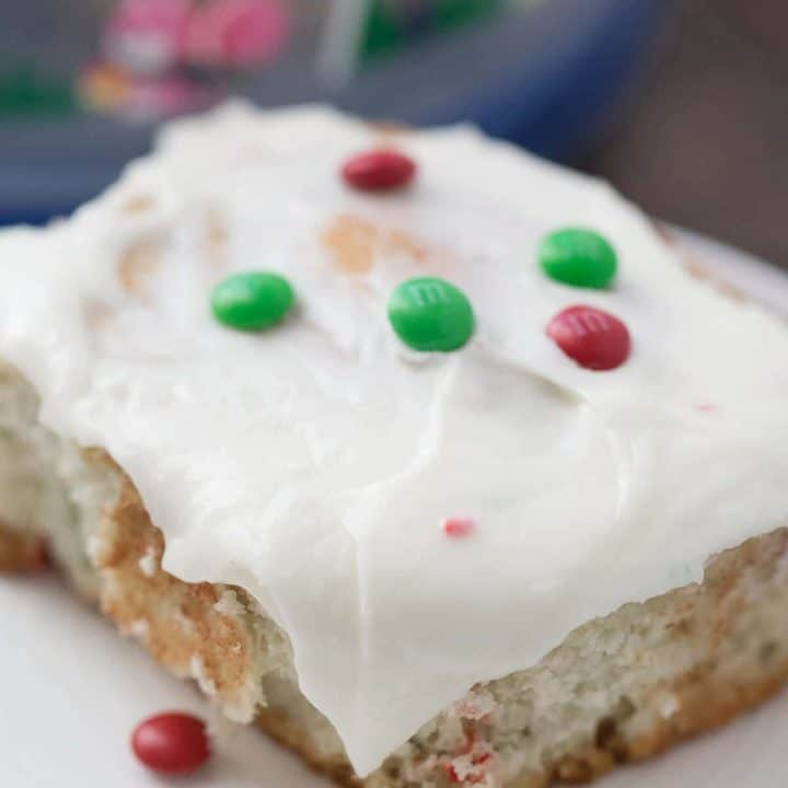 These cake mix cinnamon rolls will make everything festive and fun!