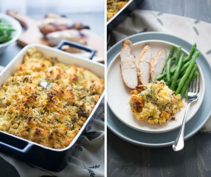 Love stuffing? This cornbread stuffing recipe is filling and satisfying!
