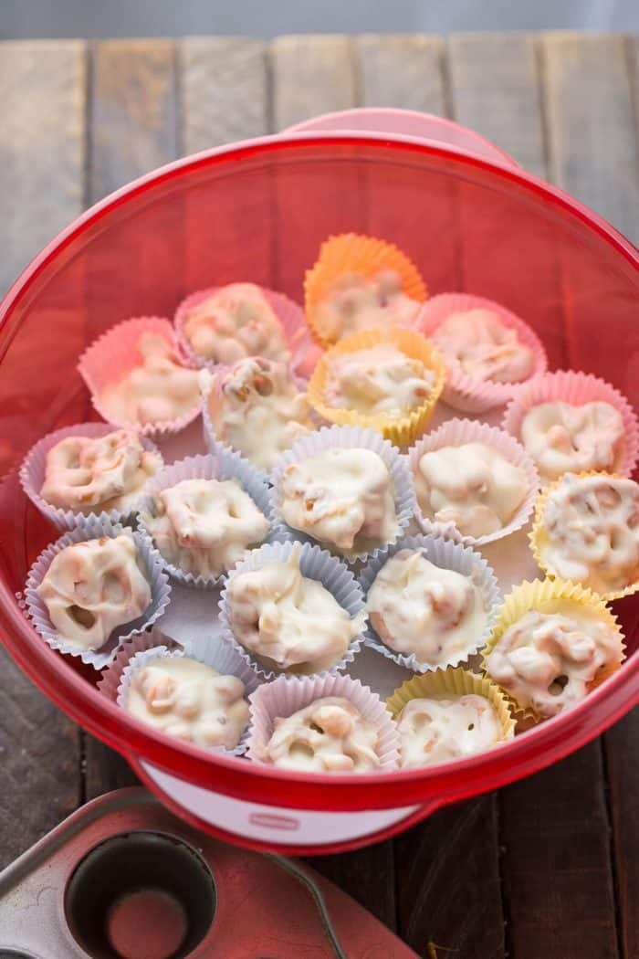 Want an easy treat? It doesn't get any simpler than this crockpot candy recipe!