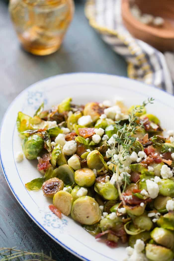 Need a new way to enjoy Brussels sprouts? These sautéed Brussels sprouts have it all!