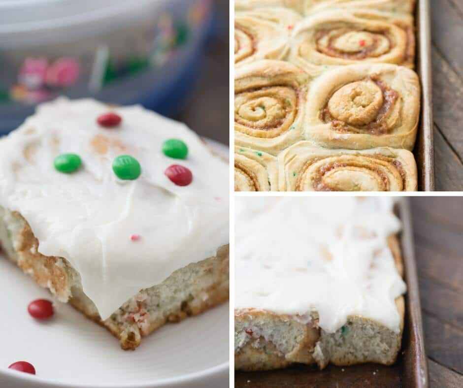 Cake mix cinnamon rolls are fluffy and light and are a great way to make breakfast more festive!