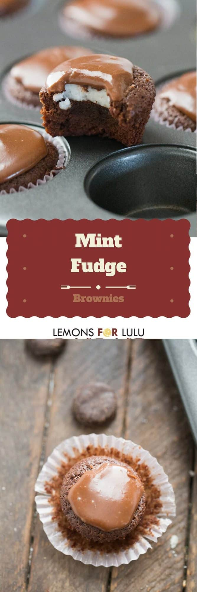 Need any easy treat? Try this mint fudge brownie recipe! Lots of chocolate and lots of mint!