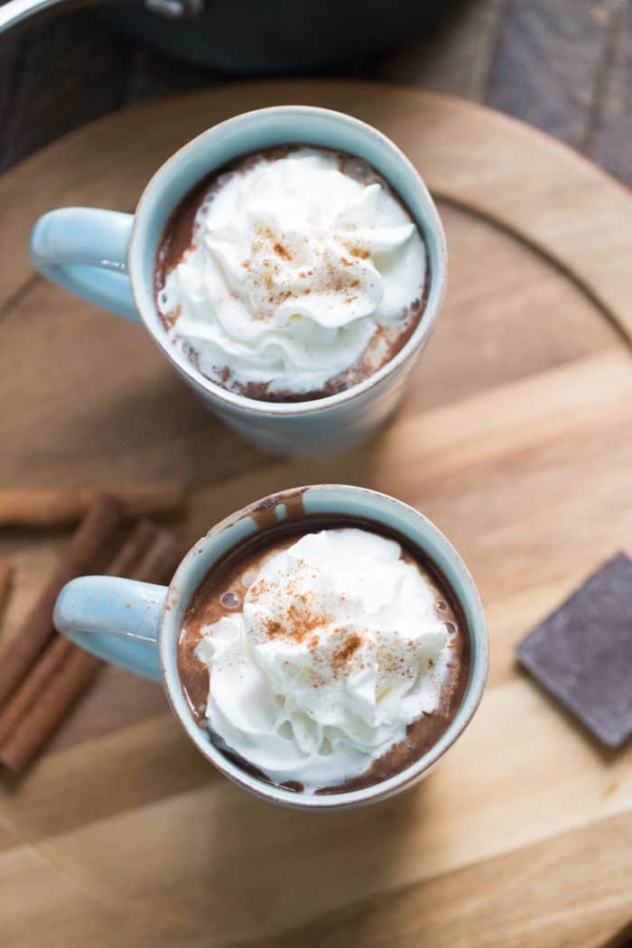 Want the richest tasting chocolate? Than look no further than this Mexican Hot Chocolate recipe!