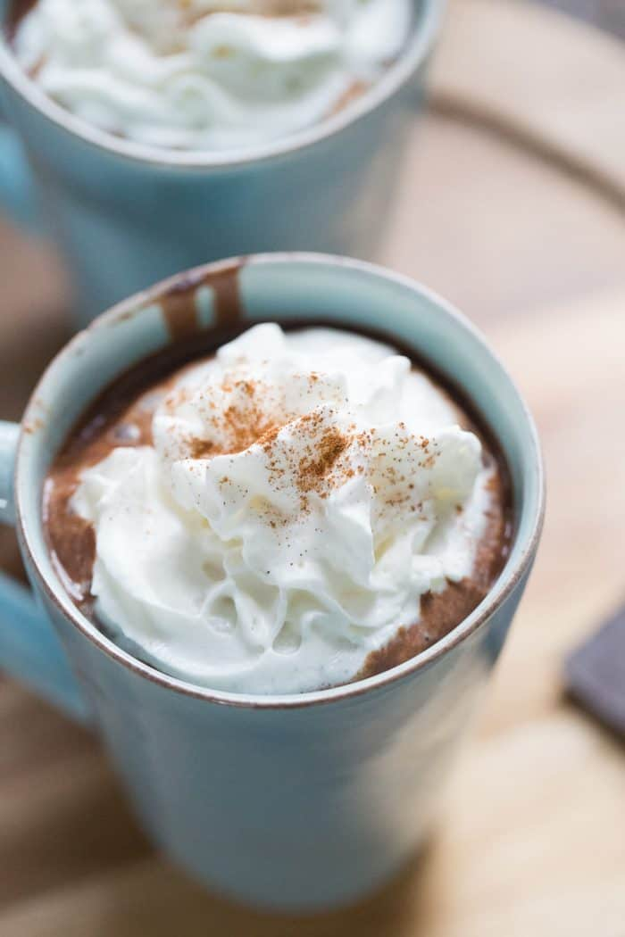 This Mexican hot chocolate is deep in flavor and rich in taste! It is simply the best!