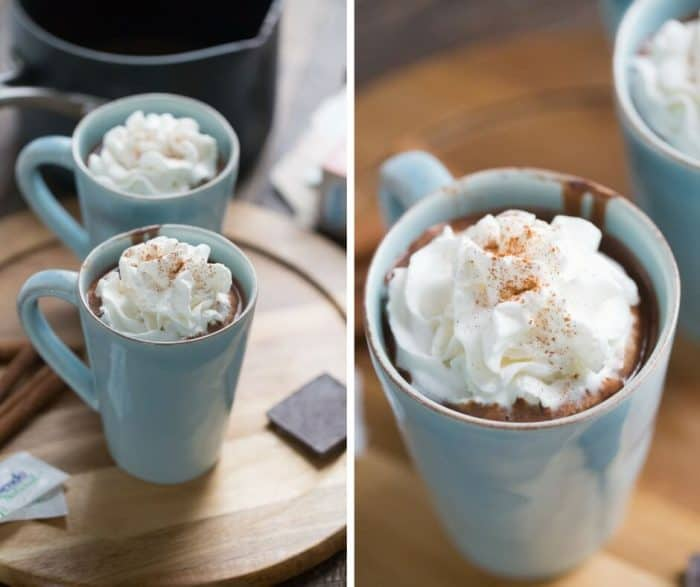 When you crave chocolate then you have to give this Mexican hot chocolate a try!