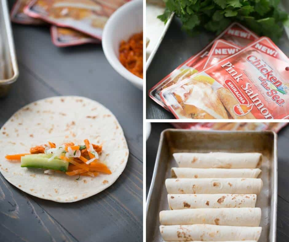 Bahn Mi Taquito is where east meets west! This simple recipe is fresh tasting and so simple!