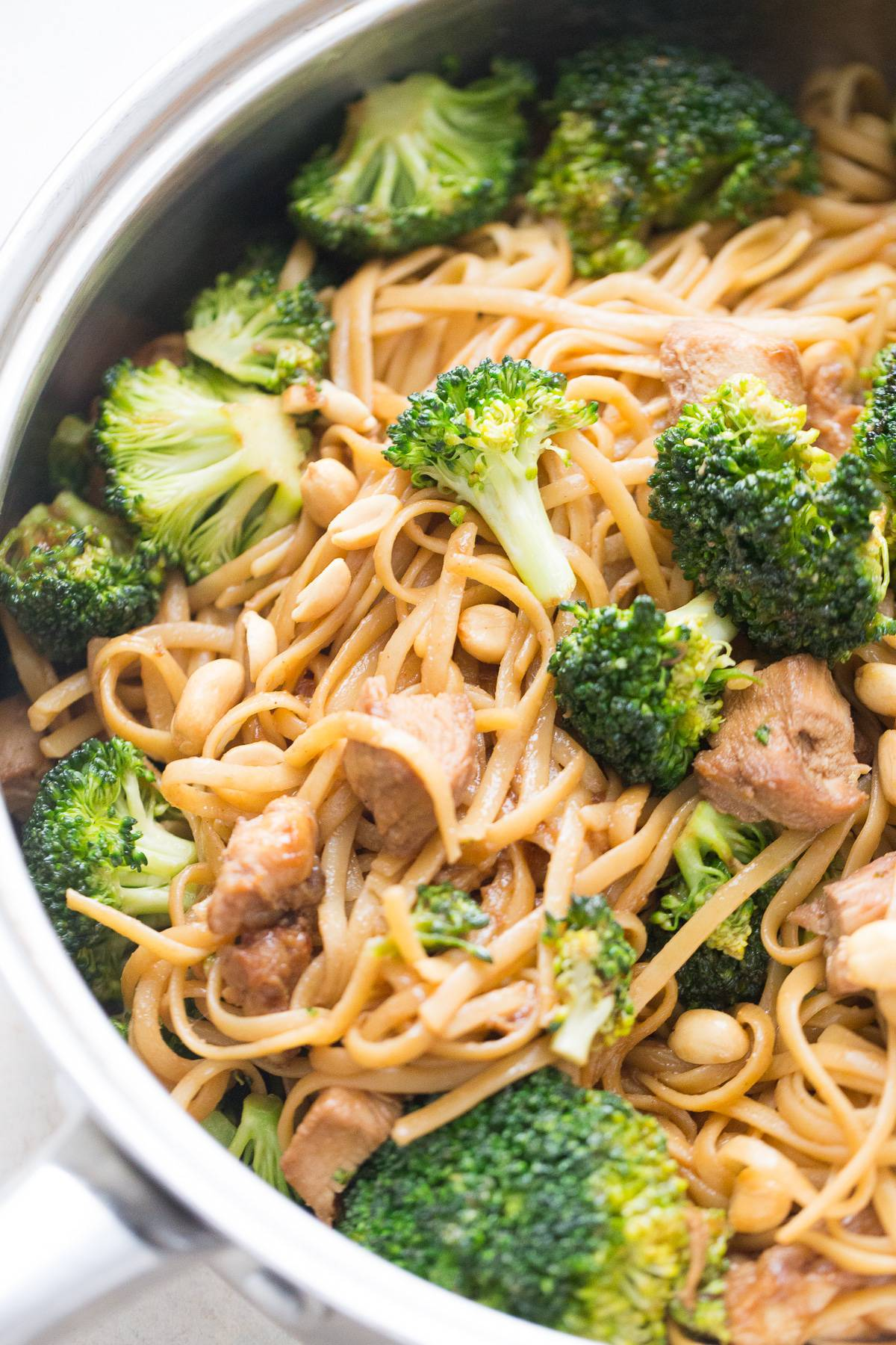 Chicken and broccoli stir fry is the perfect meal when you want to serve family something delicious but need something quick!