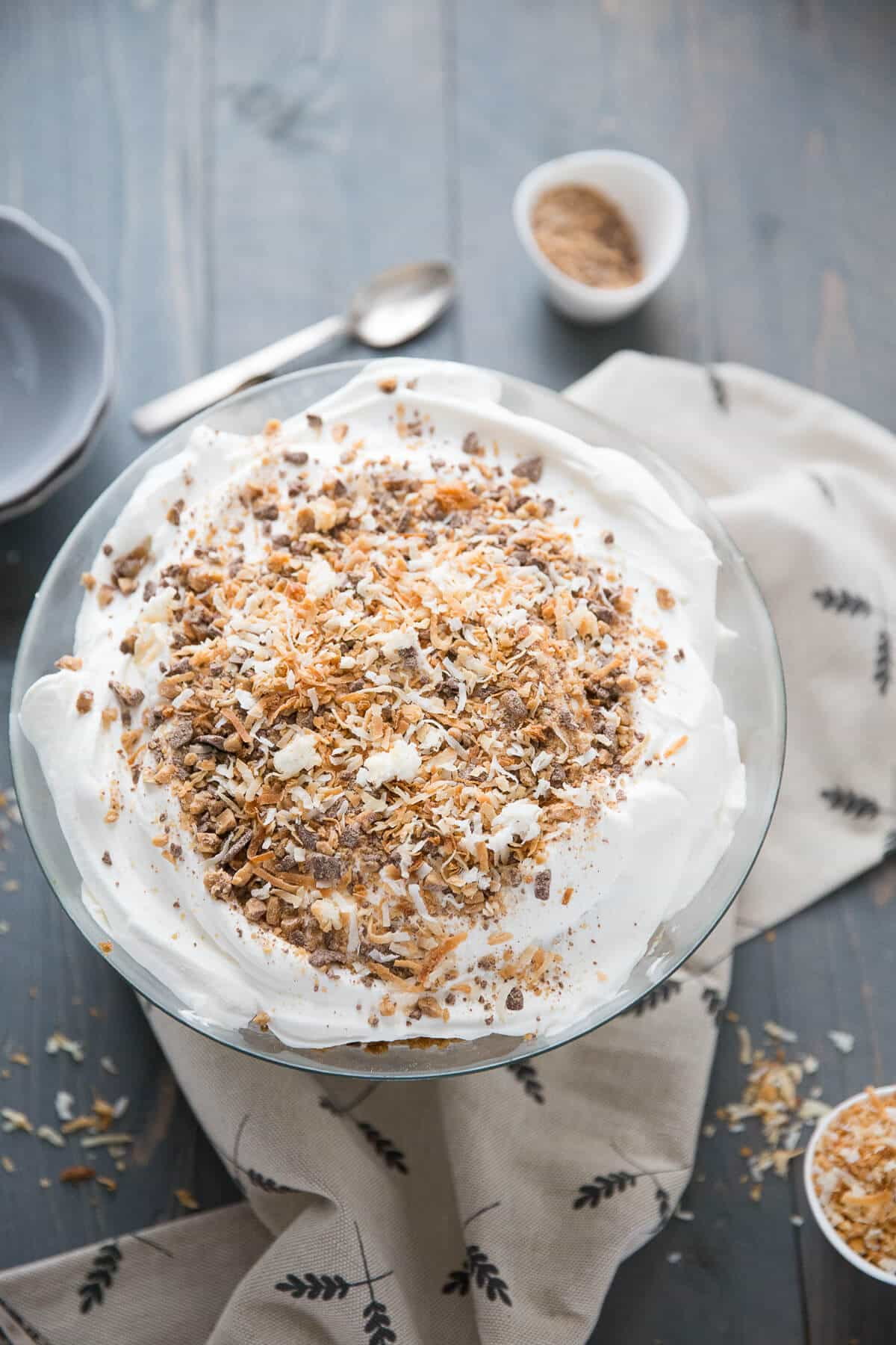 This recipe for carrot cake trifle is perfect for any time you want carrot cake but don't want to do the work!