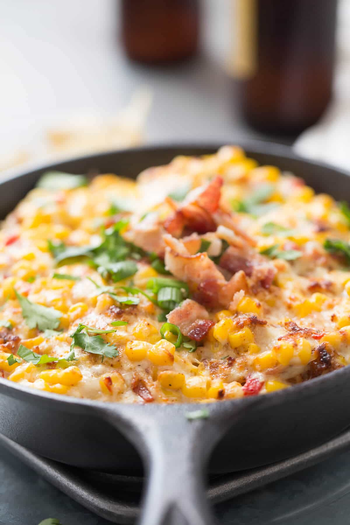 This hot corn dip is going to make your next party! It is absolutely irresistible!