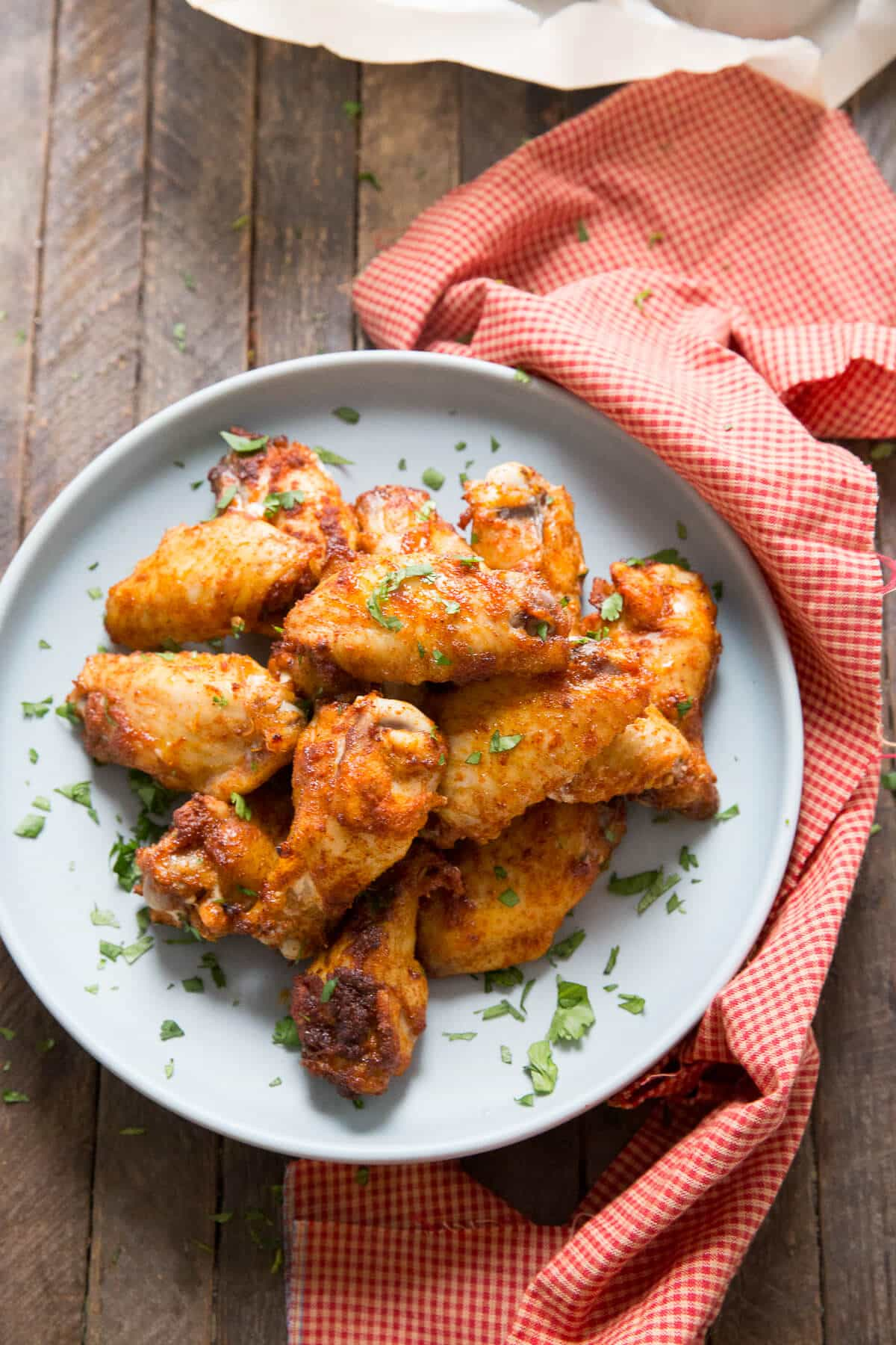Love wings? Then you have to try these dry rub chicken wings!