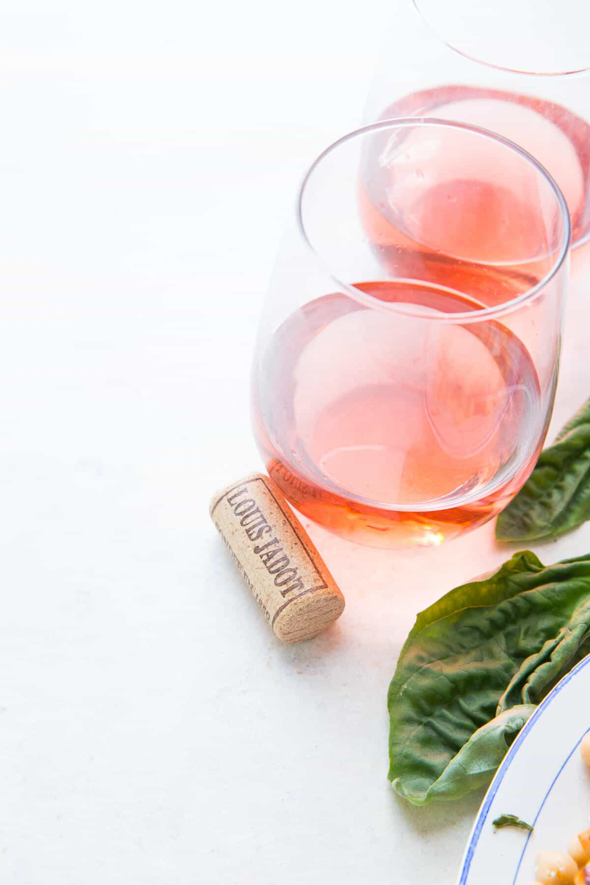 Rose wine pairs perfectly with seafood.