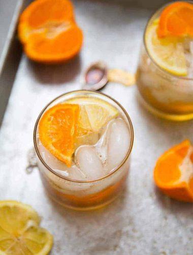 Easy bourbon cocktail