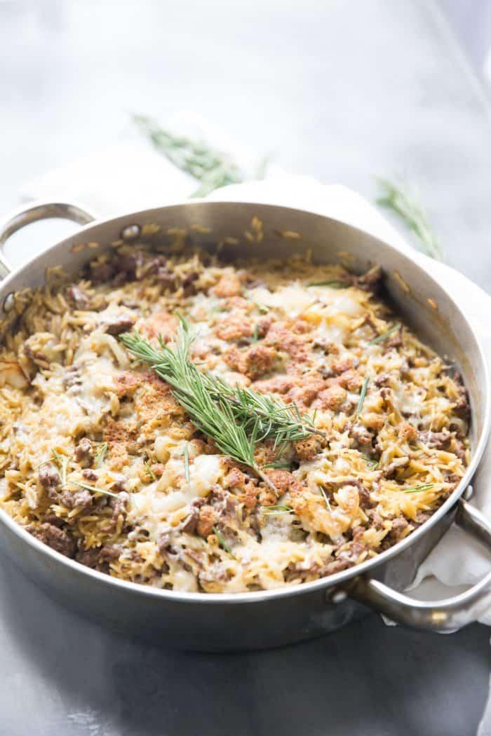 ground beef casserole with pasta