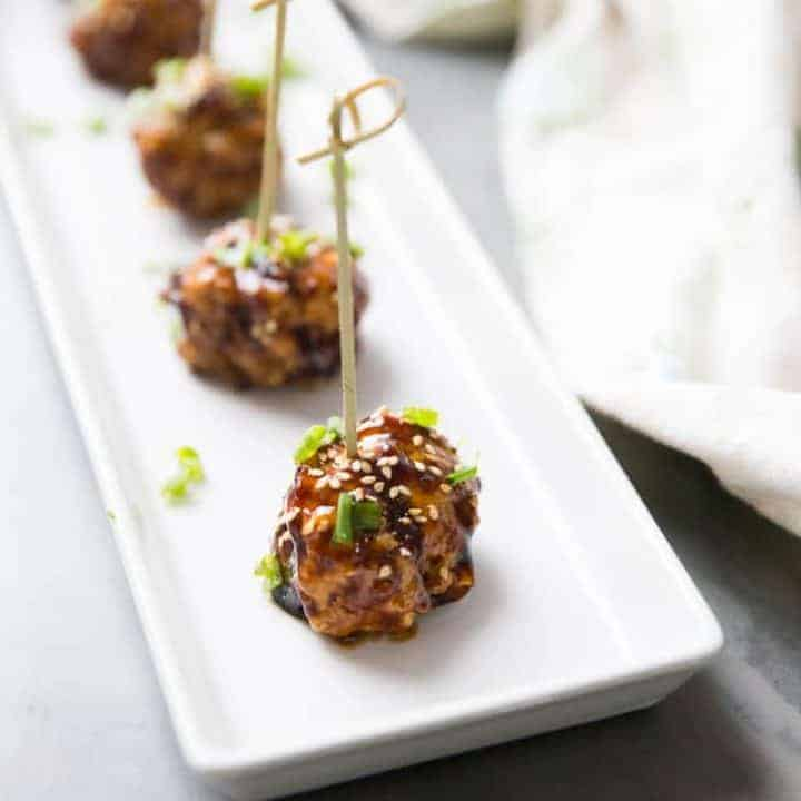 spicy cocktail meatballs