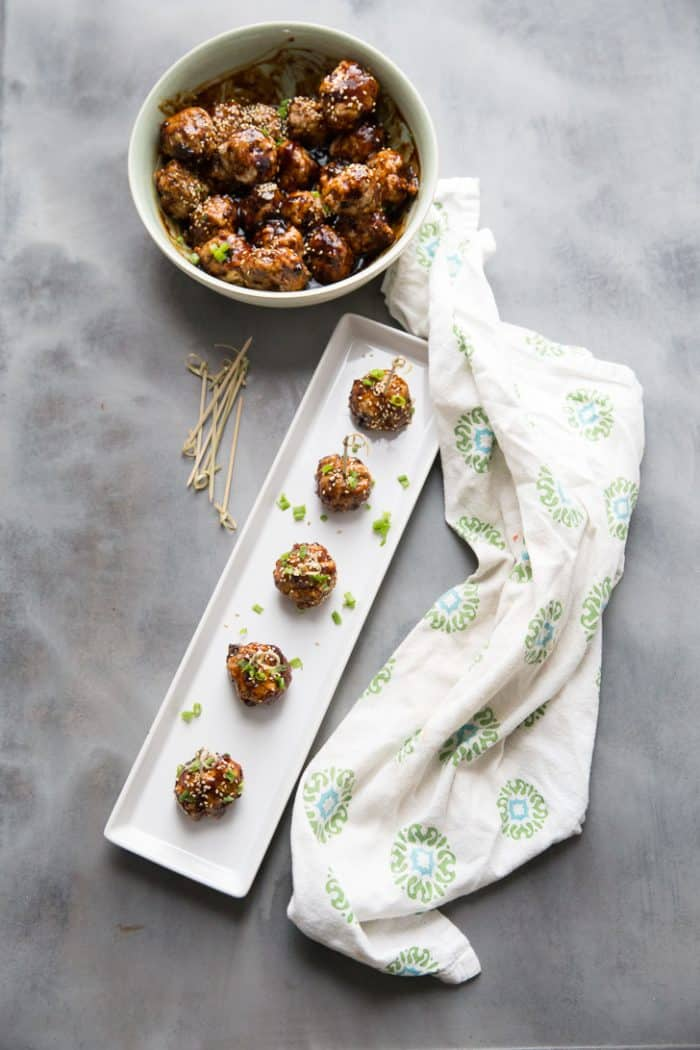 Cocktail Meatballs for a crowd