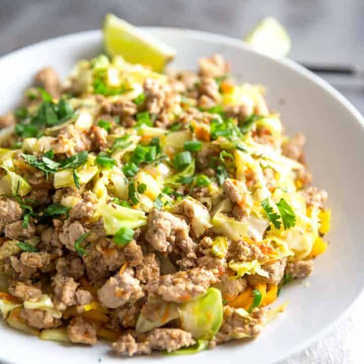 Eggroll Noodle Bowl