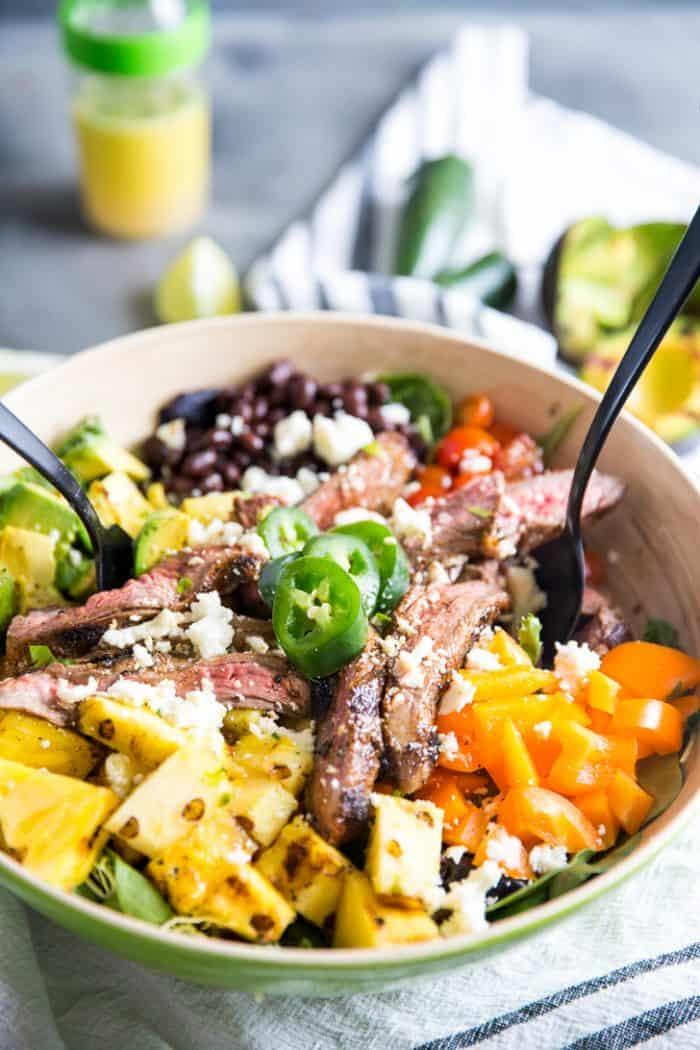 Easy taco salad recipe tossed