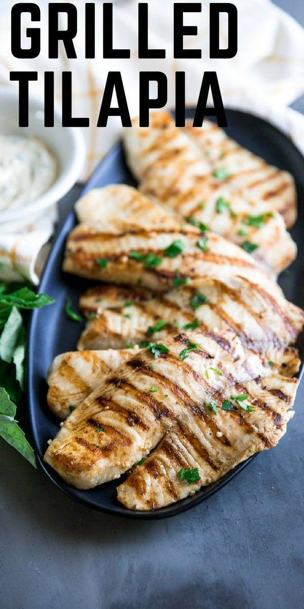 Grilled tilapia title