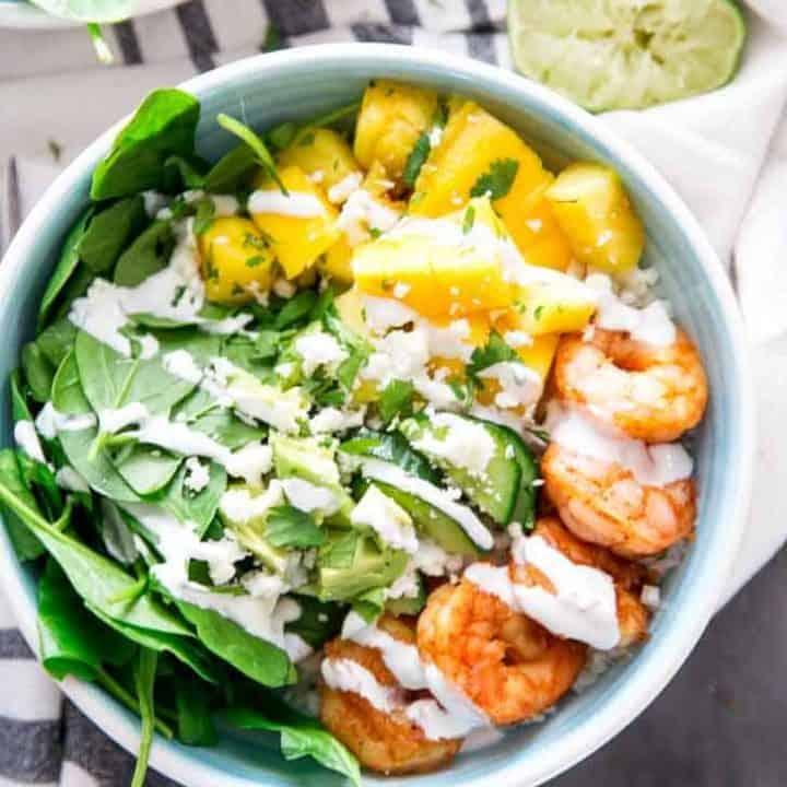 Island Shrimp Bowl with Kroger Delivery